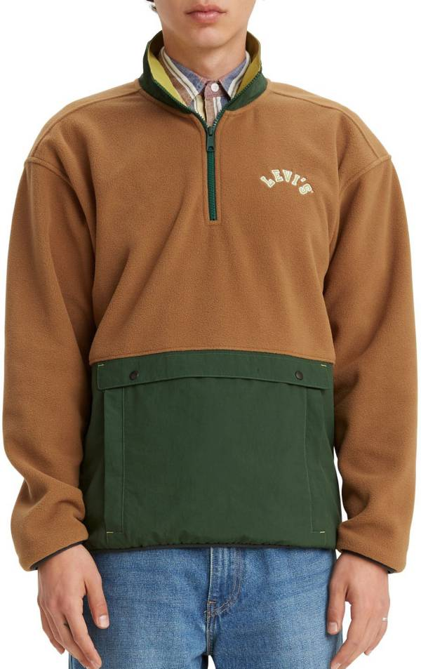 Levi's Men's Premium Quarter Zip Polar Fleece product image