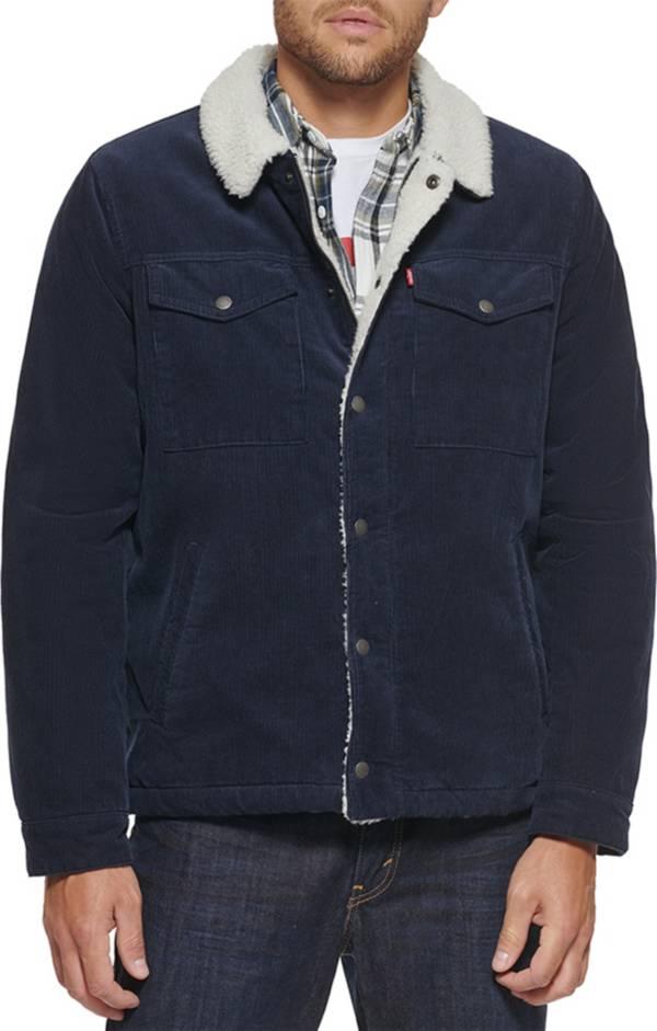 Levi's Men's Sherpa Lined Corduroy Trucker Jacket product image