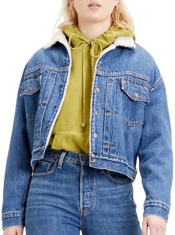 Levi's Women's Premium New Heritage Sherpa Trucker Jacket product image
