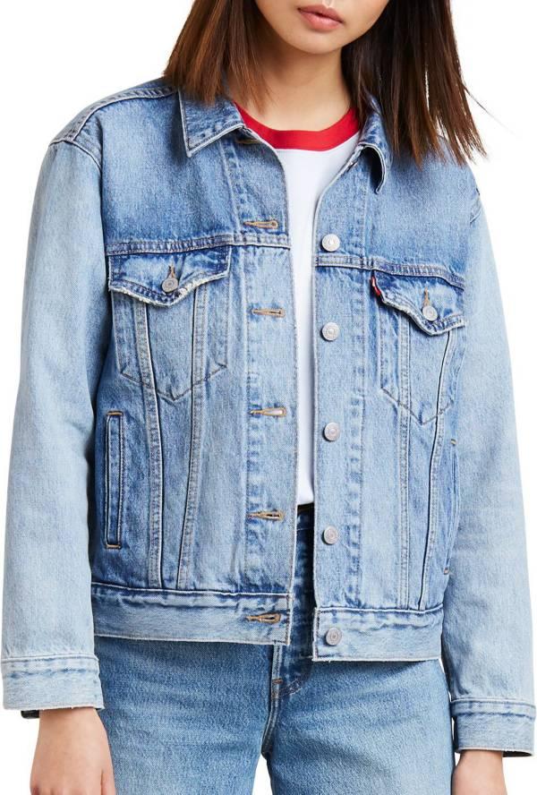 Levi's Women's Premium Ex-Boyfriend Trucker Jacket product image