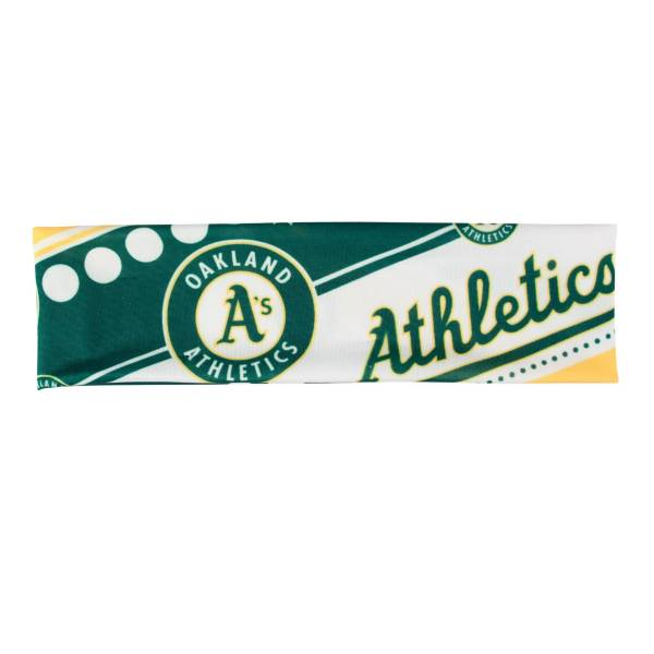 Little Earth Oakland Athletics Stretch Headband product image