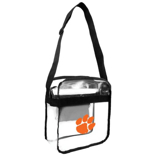 Little Earth Clemson Tigers Clear Carryall Crossbody product image
