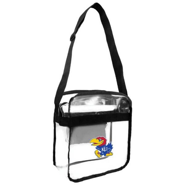 Little Earth Kansas Jayhawks Clear Carryall Crossbody product image