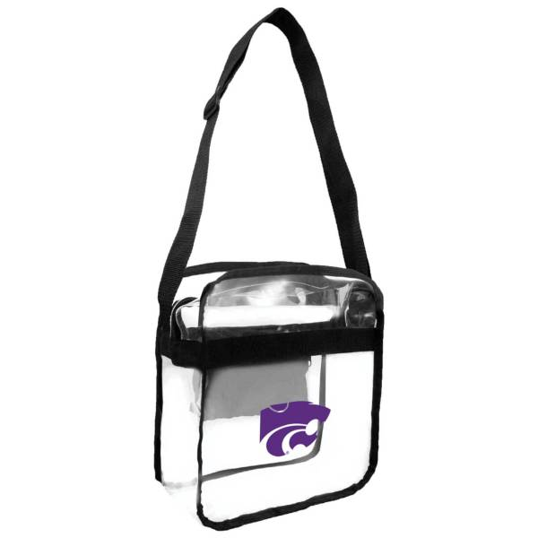 Little Earth Kansas State Wildcats Clear Carryall Crossbody product image