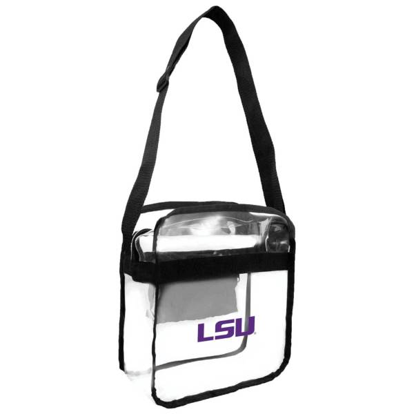 Little Earth LSU Tigers Clear Carryall Crossbody product image