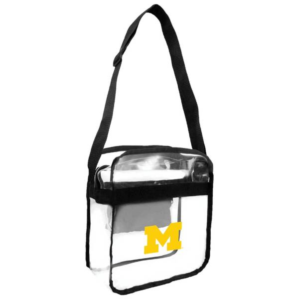 Little Earth Michigan Wolverines Clear Carryall Crossbody product image