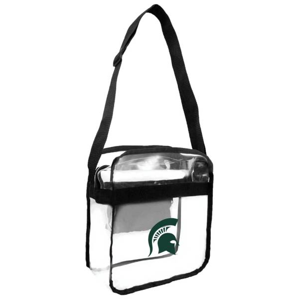 Little Earth Michigan State Spartans Clear Carryall Crossbody product image