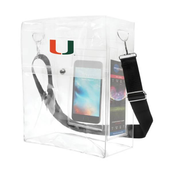 Little Earth Miami Hurricanes Ticket Satchel product image