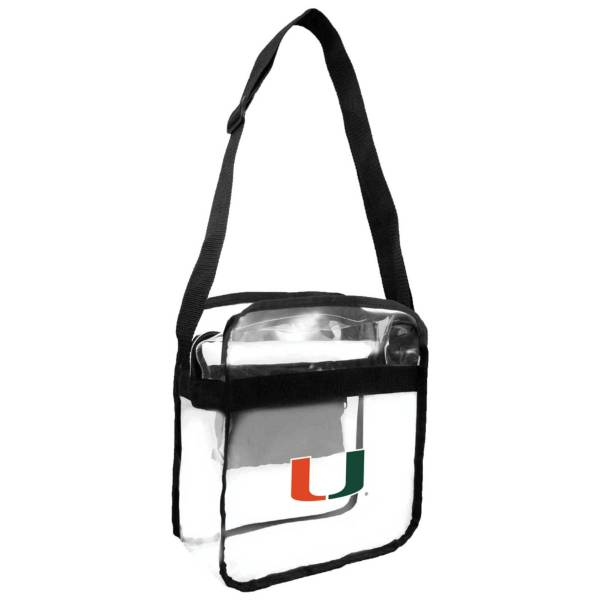 Little Earth Miami Hurricanes Clear Carryall Crossbody product image