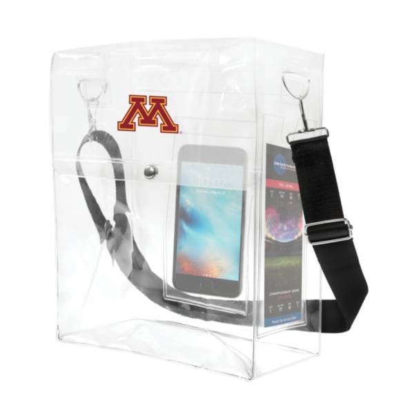 Little Earth Minnesota Golden Gophers Ticket Satchel product image