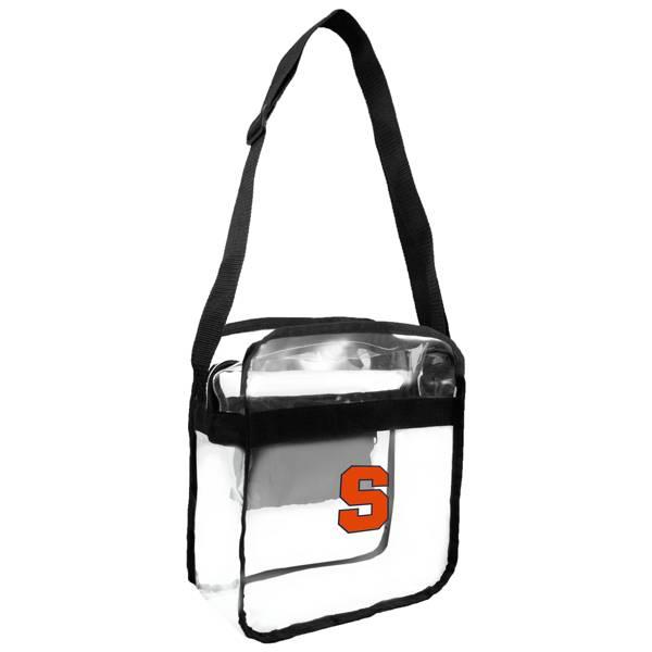 Little Earth Syracuse Orange Clear Carryall Crossbody product image