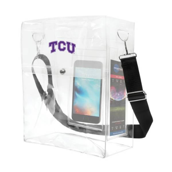 Little Earth TCU Horned Frogs Ticket Satchel product image