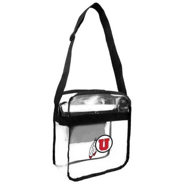 Little Earth Utah Utes Clear Carryall Crossbody product image