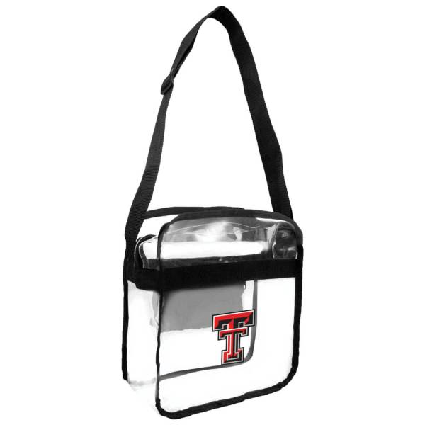 Little Earth Texas Tech Red Raiders Clear Carryall Crossbody product image