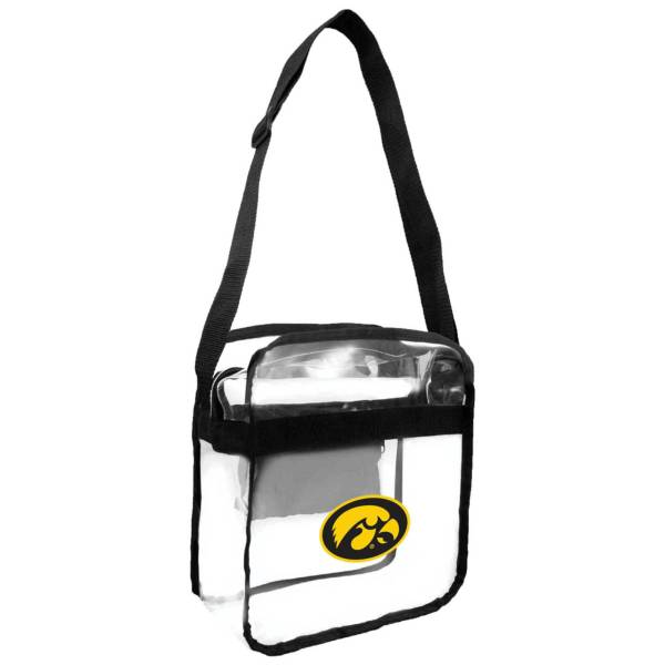 Little Earth Iowa Hawkeyes Clear Carryall Crossbody product image