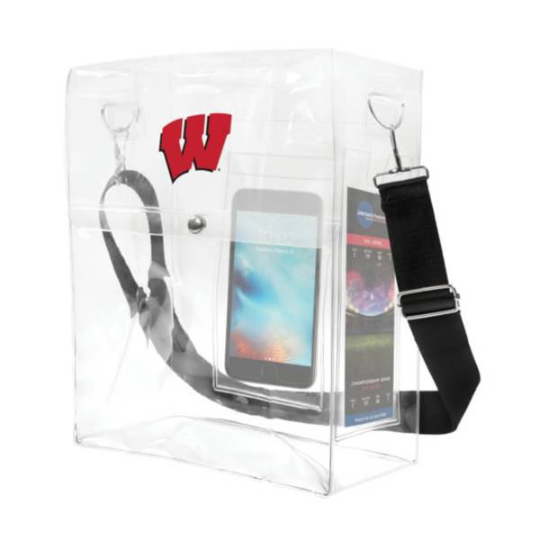 Little Earth Wisconsin Badgers Ticket Satchel product image