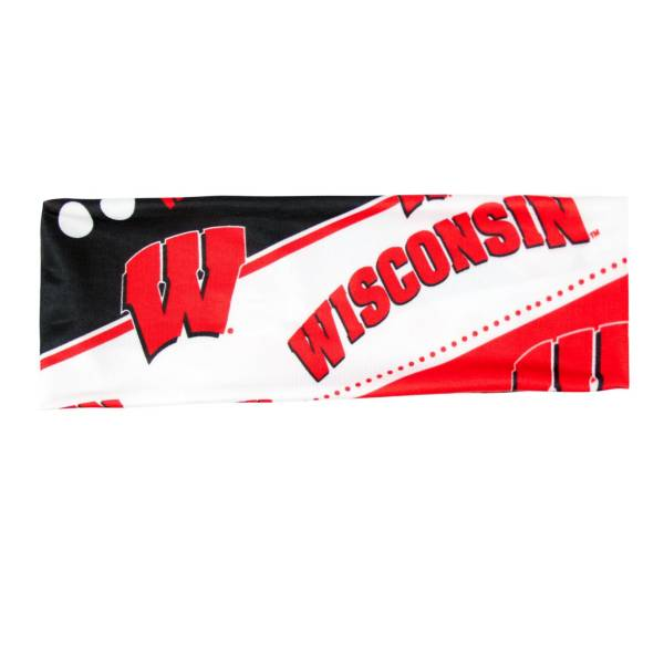 Little Earth Wisconsin Badgers Stretch Headband product image
