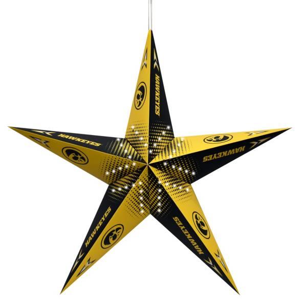 Little Earth Iowa Hawkeyes Star Lantern product image