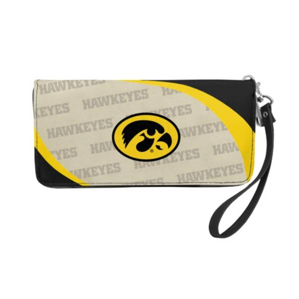 Little Earth Iowa Hawkeyes Zip Organizer Wallet product image
