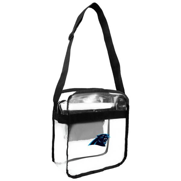 Little Earth Carolina Panthers Clear Carryall Crossbody product image