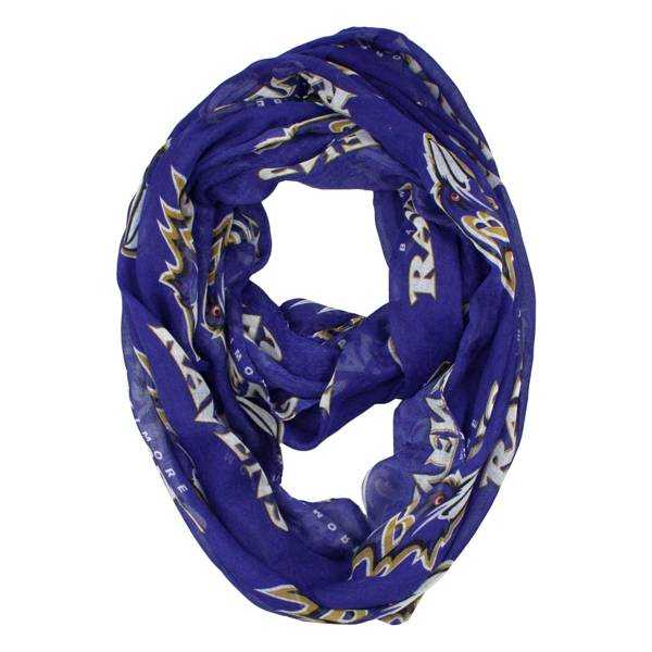 Little Earth Baltimore Ravens Infinity Scarf product image