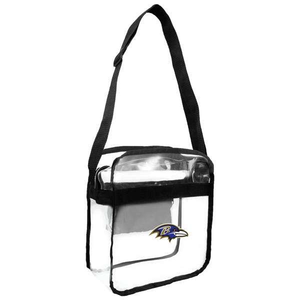 Little Earth Baltimore Ravens Clear Carryall Crossbody product image
