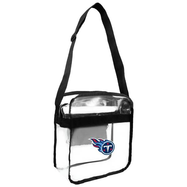 Little Earth Tennessee Titans Clear Carryall Crossbody product image