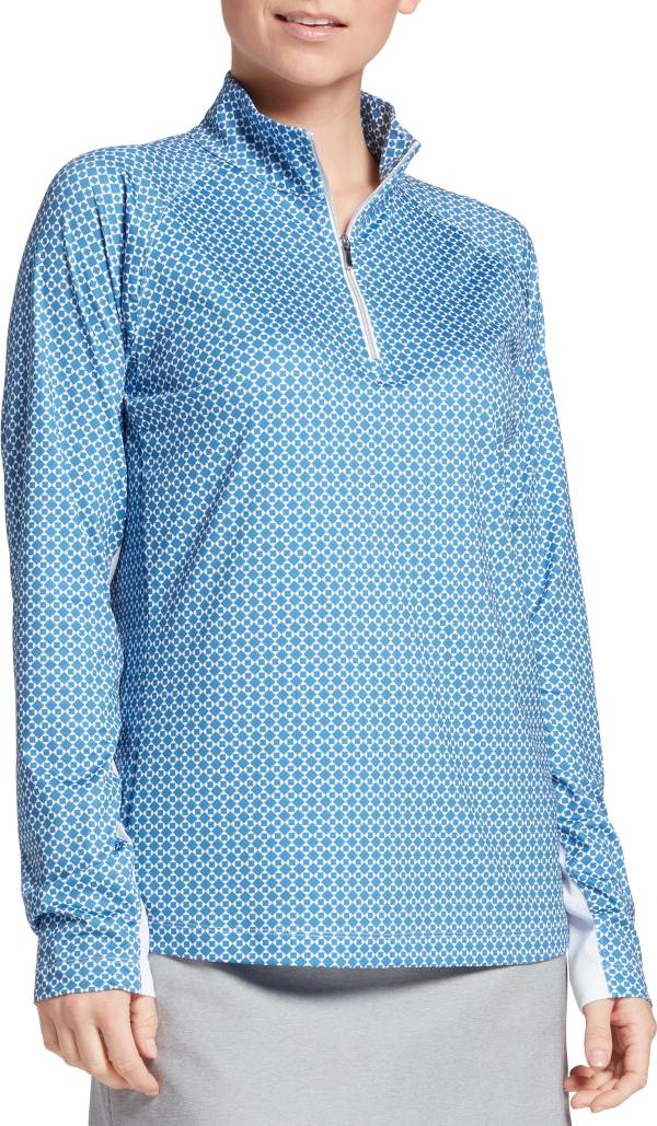 Lady Hagen Women's Print ¼-Zip Golf Pullover product image