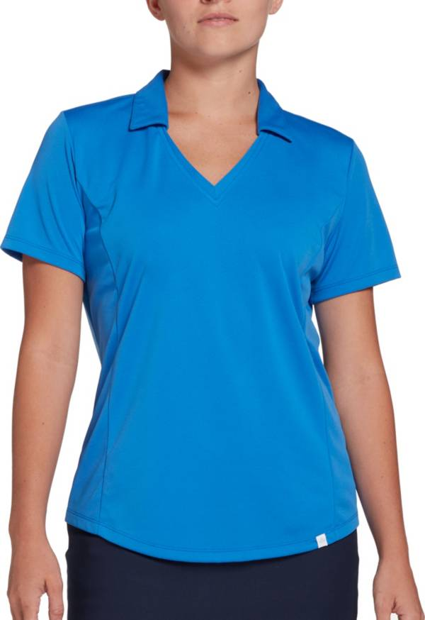 Lady Hagen Women's Solid Short Sleeve Golf Polo product image
