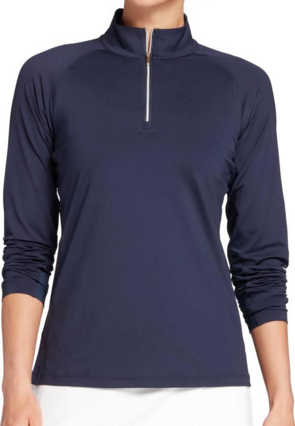 Lady Hagen Women's Solid UV 1/4 Zip Golf Pullover product image