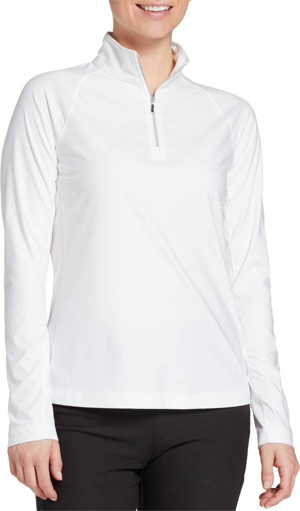 Lady Hagen Women's Solid UV Long Sleeve Golf Pullover product image