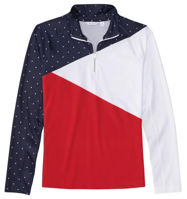Lady Hagen Women's USA Spliced ¼ Zip Golf Pullover product image