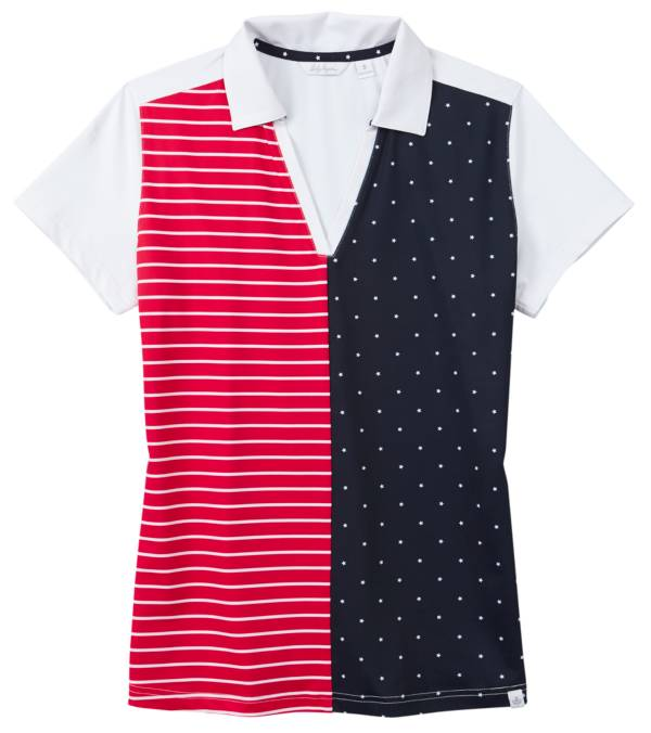 Lady Hagen Women's Stars and Stripes Golf Polo product image