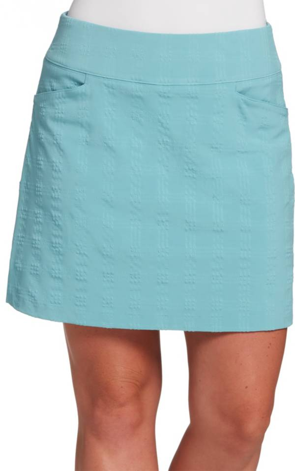 Lady Hagen Women's Seersucker 17'' Golf Skort product image