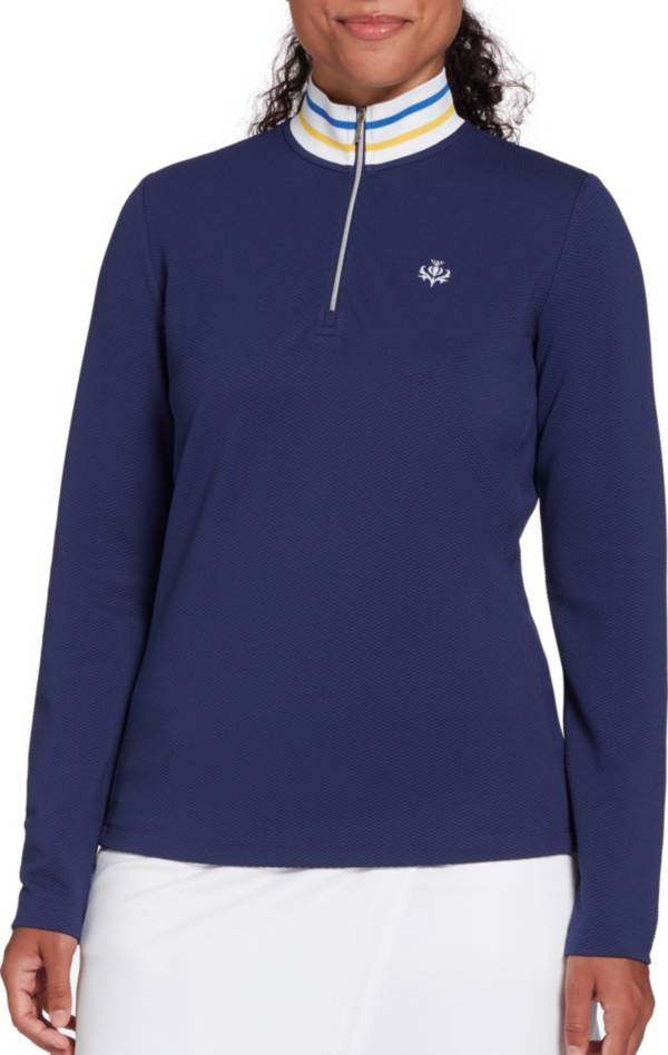 Lady Hagen Women's Toile Rib 1/4 Zip Pullover product image