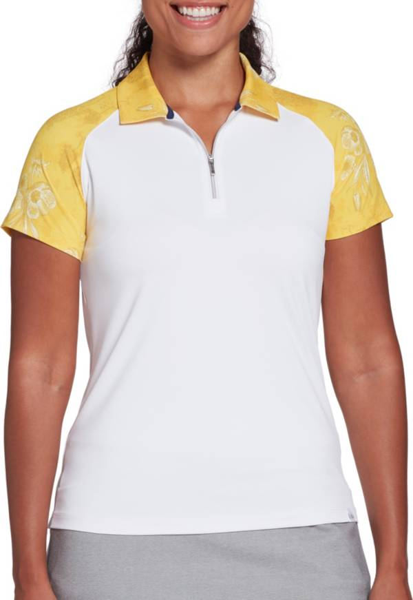 Lady Hagen Women's Toile Print Golf Polo (Regular and Plus) product image