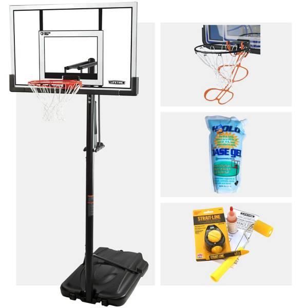 "Lifetime 52"" MVP Portable Basketball Hoop Bundle product image"