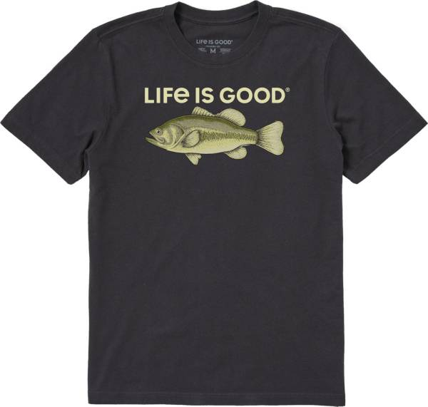 Life is Good Men's Bass Rendering Crusher T-Shirt product image