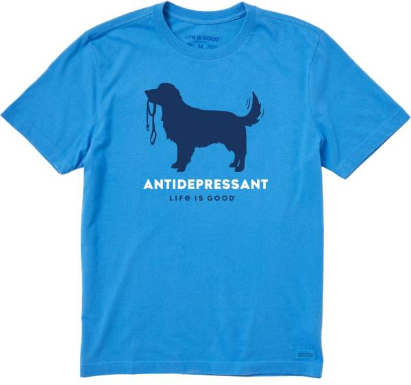 Life is Good Men's Canine Antidepressant Crusher T-Shirt product image