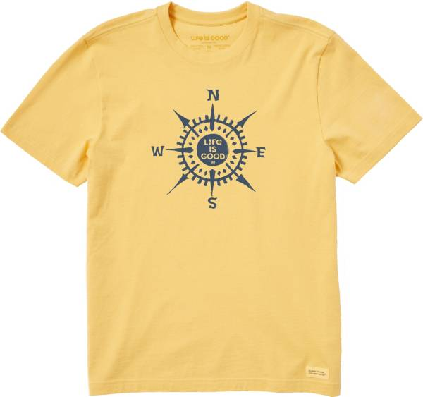Life is Good Men's LIG Compass Crusher T-Shirt product image