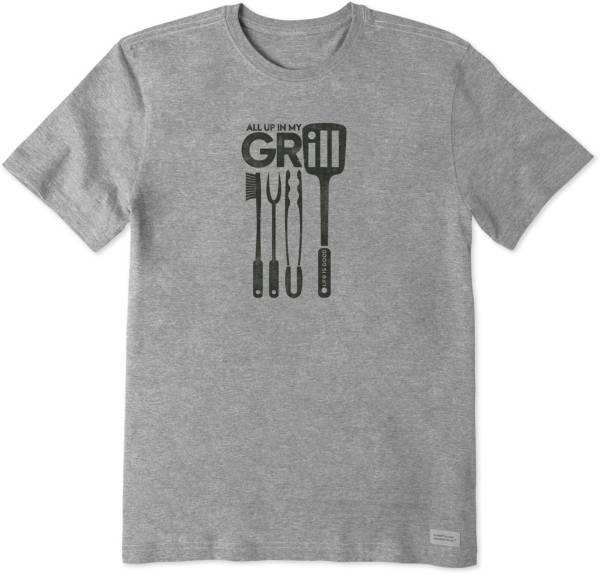 Life is Good Men's All Up In My Grill Crusher T-Shirt product image