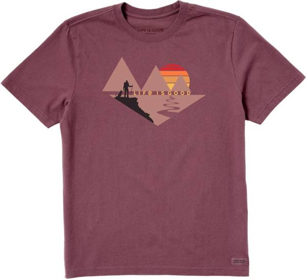Life is Good Men's Minimalist Hike Crusher T-Shirt product image
