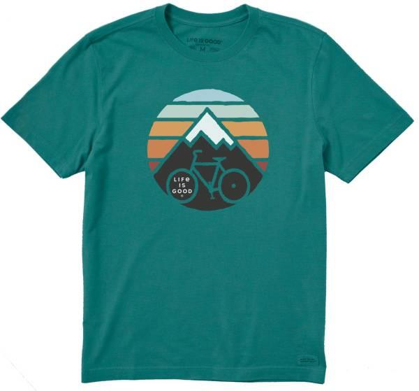 Life is Good Men's Mountain Bike Crusher T-Shirt product image