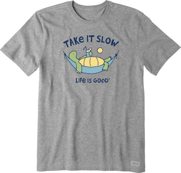 Life is Good Men's Take It Slow Crusher T-Shirt product image