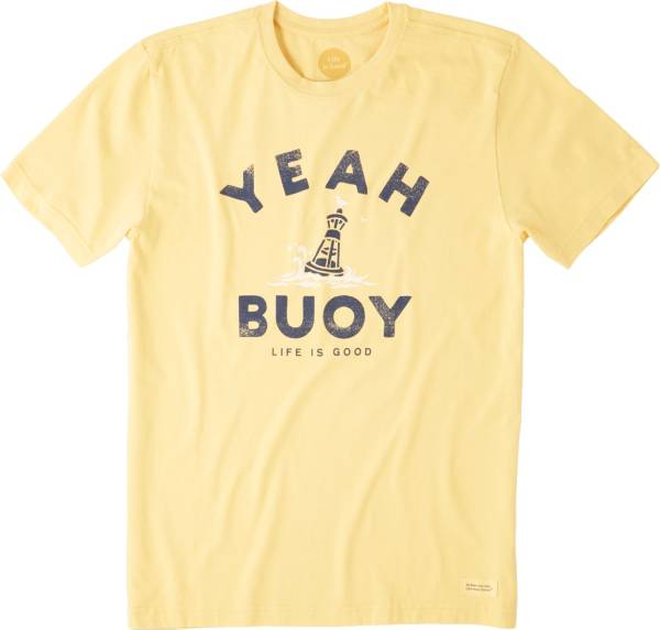 Life is Good Men's Yeah Buoy Crusher T-Shirt product image