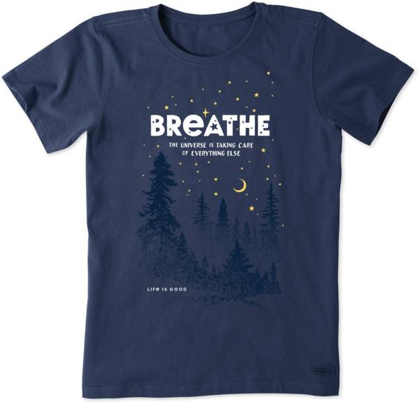Life is Good Women's Breathe In The Stars Crusher T-Shirt product image