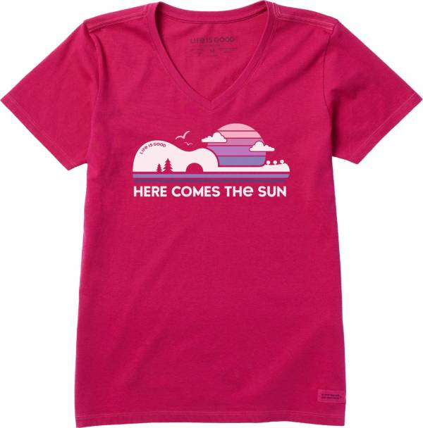 Life is Good Women's Here Comes The Sun Crusher T-Shirt product image