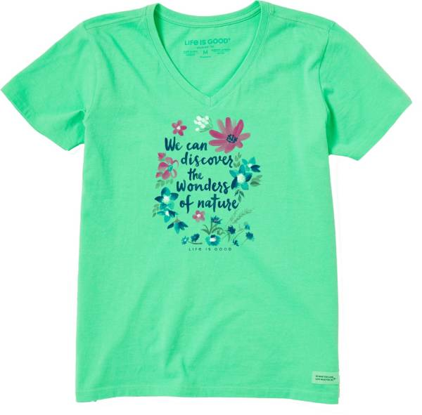 Life is Good Women's Wonders Of Nature Crusher T-Shirt product image