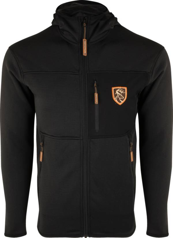 Drake Waterfowl Men's Non-Typical Blackout Performance Full-Zip Fleece Hunting Hoodie with Agion Active XL product image