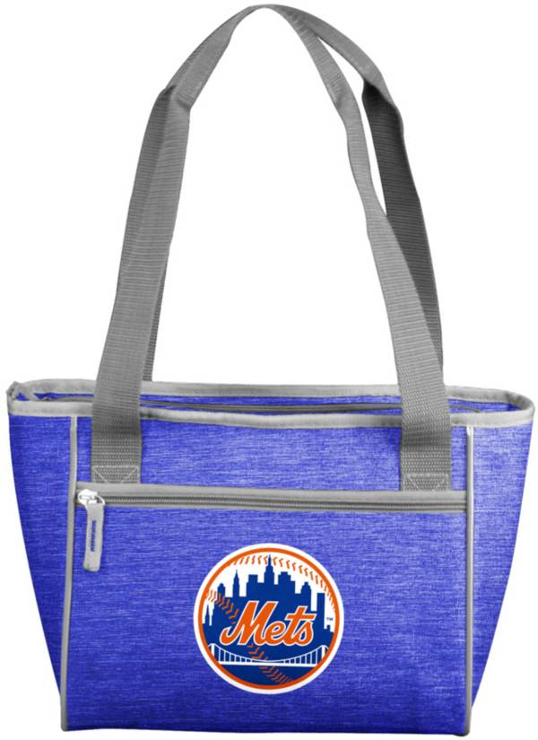 New York Mets Crosshatch Can Cooler Tote product image